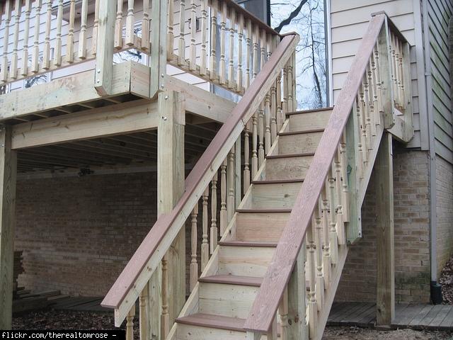 deck help trex vs choicedek lowes colors installed