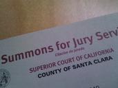 Lost jury duty summons? (Los Angeles, Burbank: house, legal