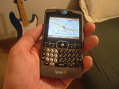 Motorola Q Phone (sucks)