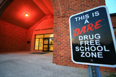 Caswell County School a Drug Free Zone