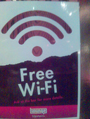 Free Wireless Internet Access - The Lounge Upstairs