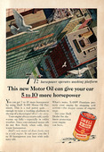 1956 Shell Motor Oil Advertisement Readers Digest March 1956