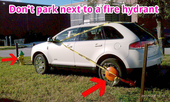 Don't Park Next to a Fire Hydrant