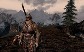 My fourth Skyrim character is an Orcish Bandit. He does no quests, just goes around and kills everyone.