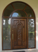 Desert Rose Door Refinishing In Phoenix Arizona House