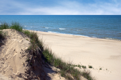 Indiana Dunes State Park Beach Michigan City