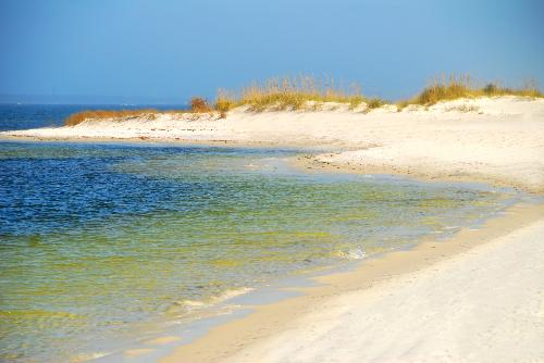 Perdido Key Florida Pensacola Fl Gulf Island In Allows Campers To Rough It On The Beach