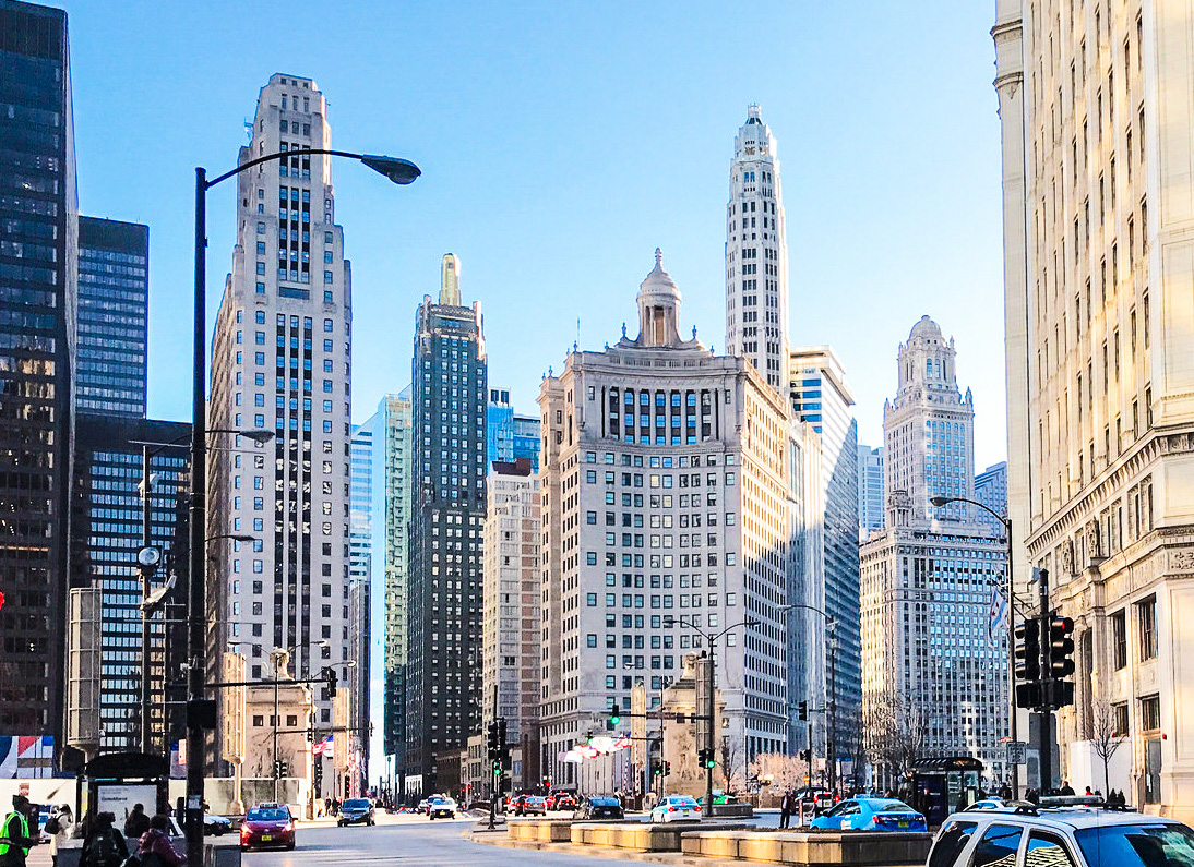 Best Downtown In The U S A Chicago N Michigan Ave Tribune