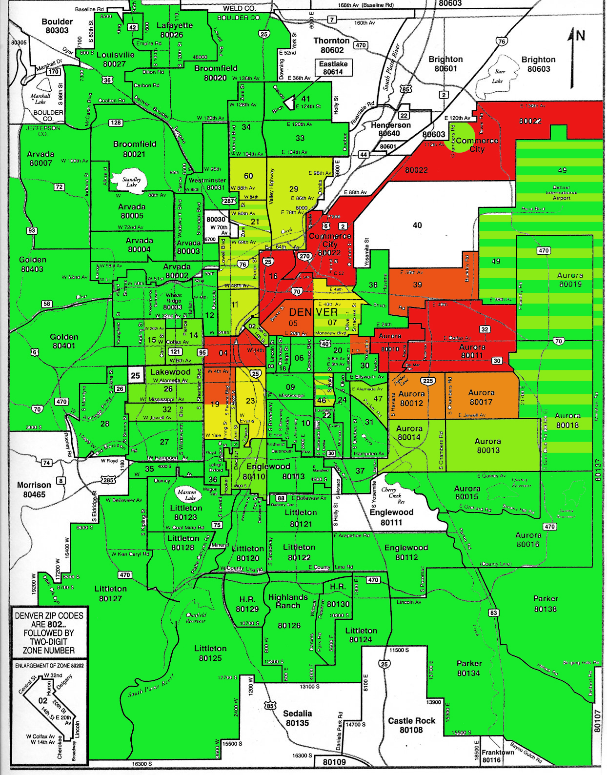 What Are Denver S Bad Areas Evans Aguilar Neighborhood Live
