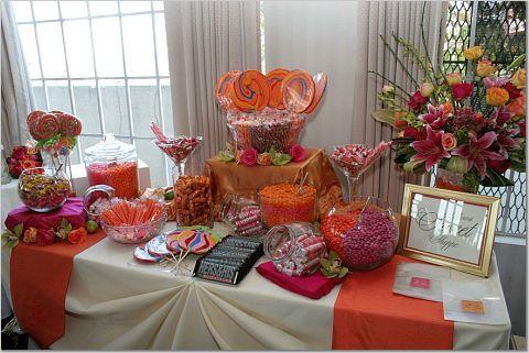 Wedding Candy Buffet Ideas