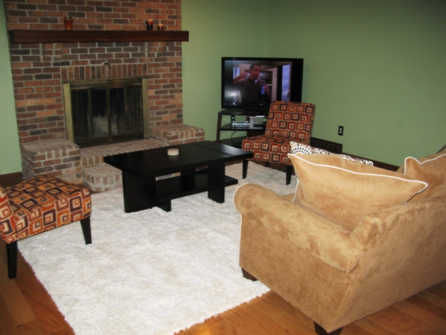 How To Arrange Furniture Around Fireplace And Corner Tv Colored Craftsman Living Room