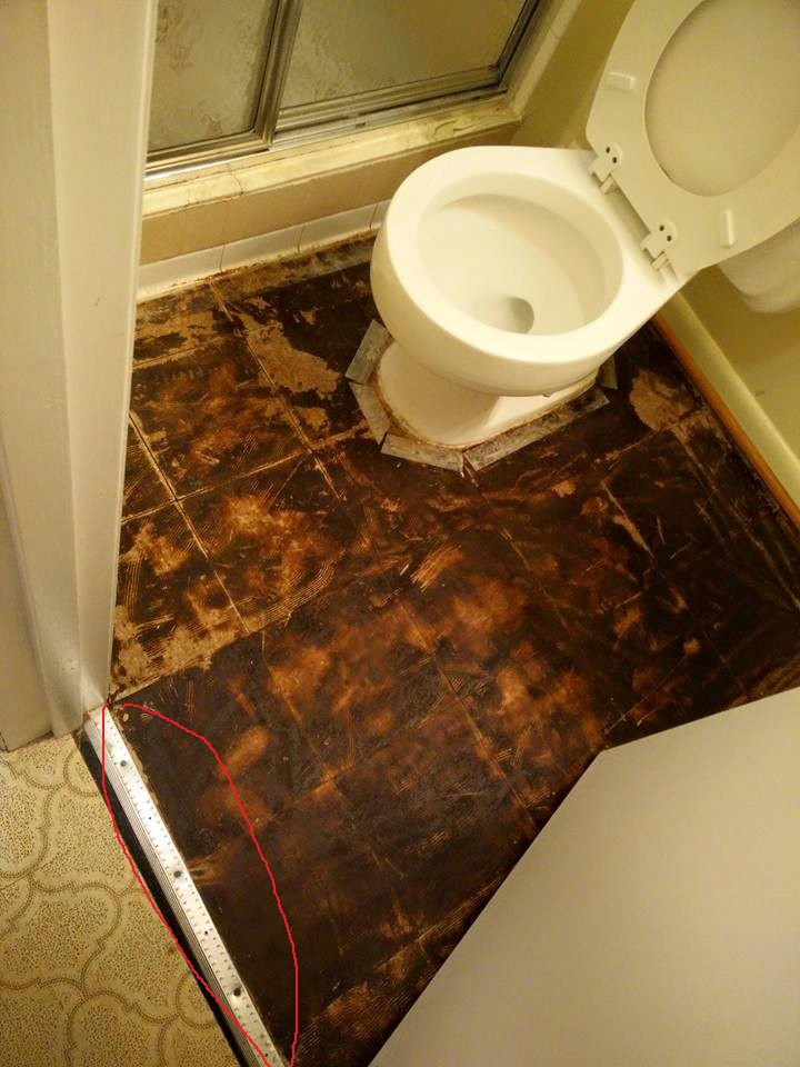 how to fix a bathroom floor how to repair bathroom floor tile tiles kitchen colors 25384
