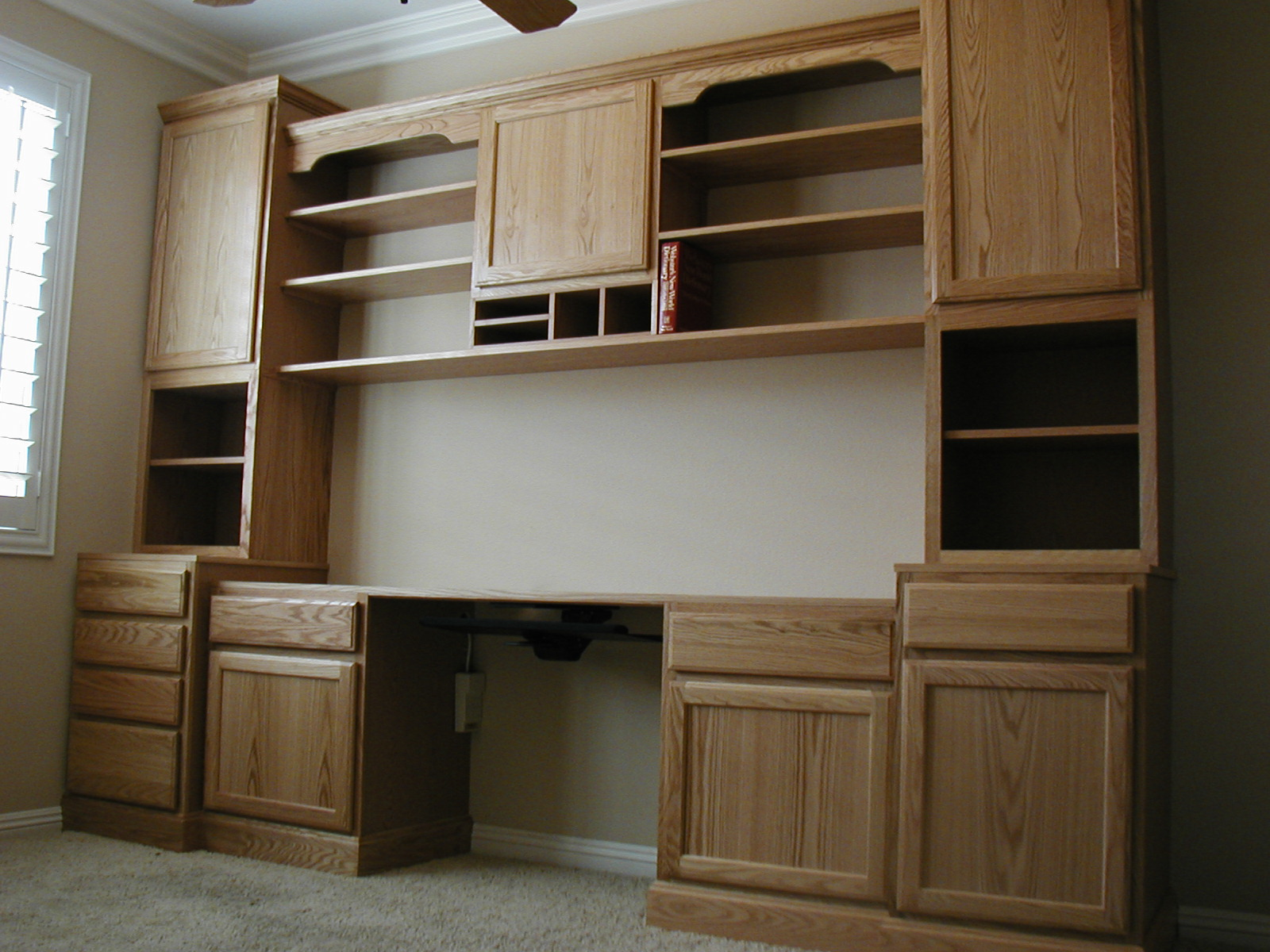 home office cupboards exciting home office cabinets - #homeoffice