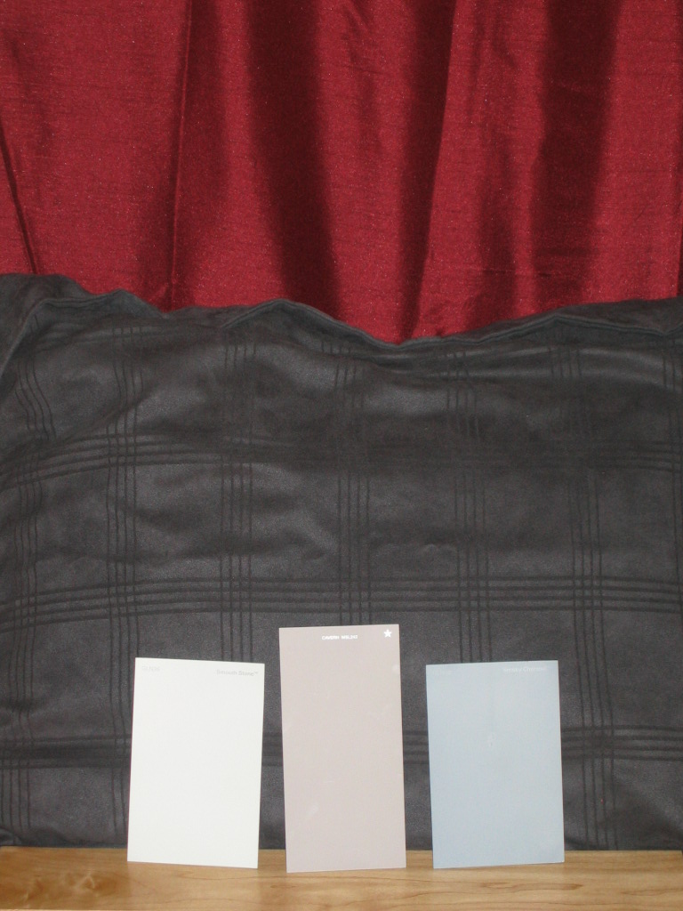 Glidden Smoky Charcoal which color works better? (valspar, flooring, paint, tile