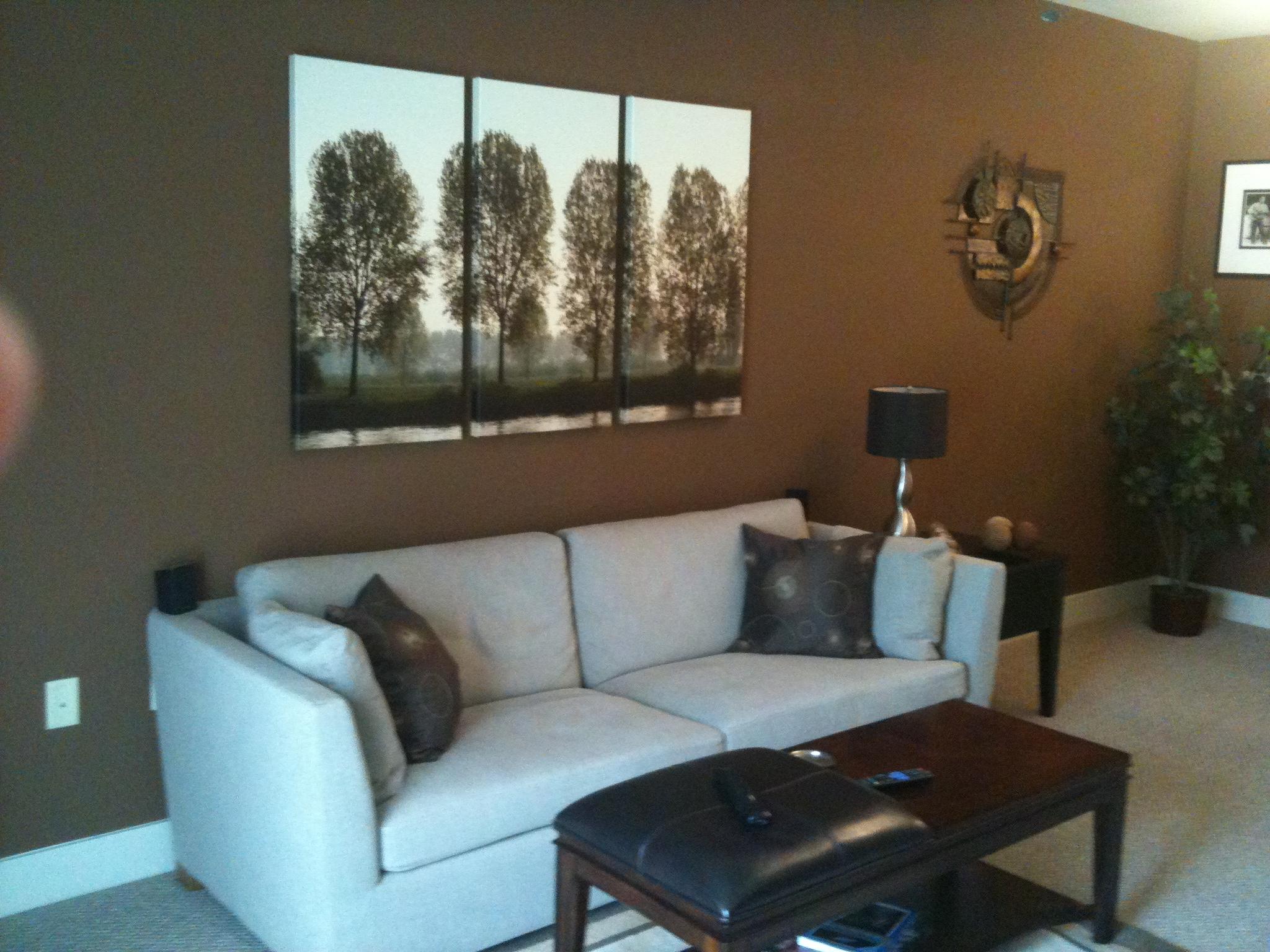 brown paint living room Centerfieldbarcom