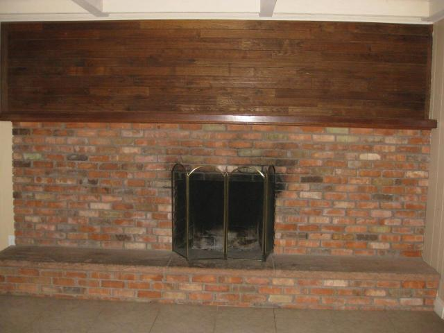 How To Remodel This Ugly 1970s Fireplace Paneling Paint