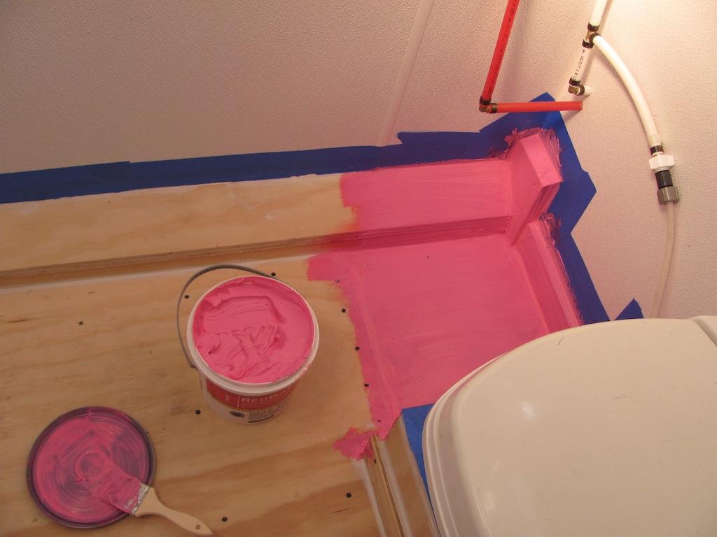 Shower Floor Waterproofing Membrane Floor Matttroy