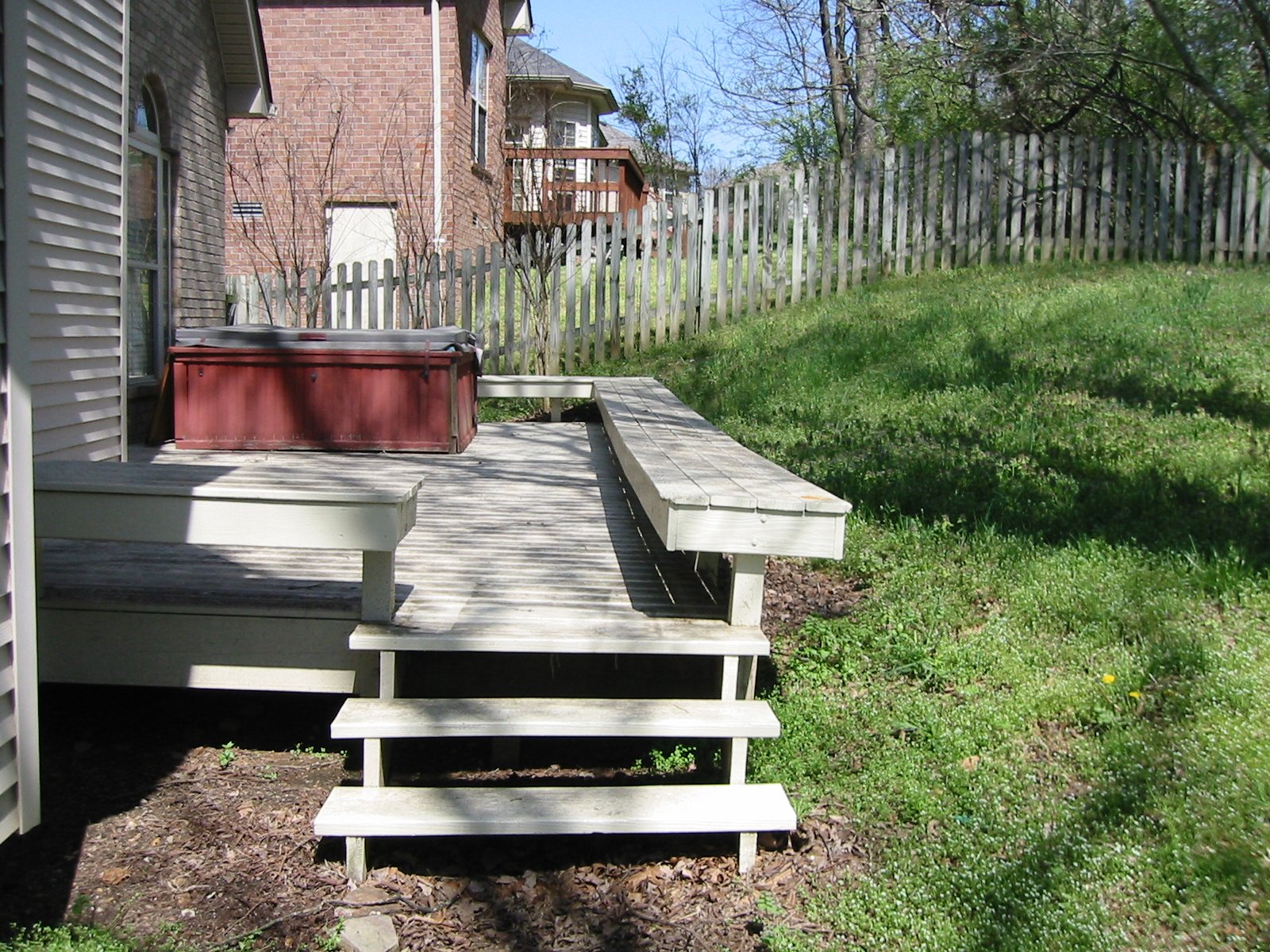 Question about re-landscaping my backyard (building a ...