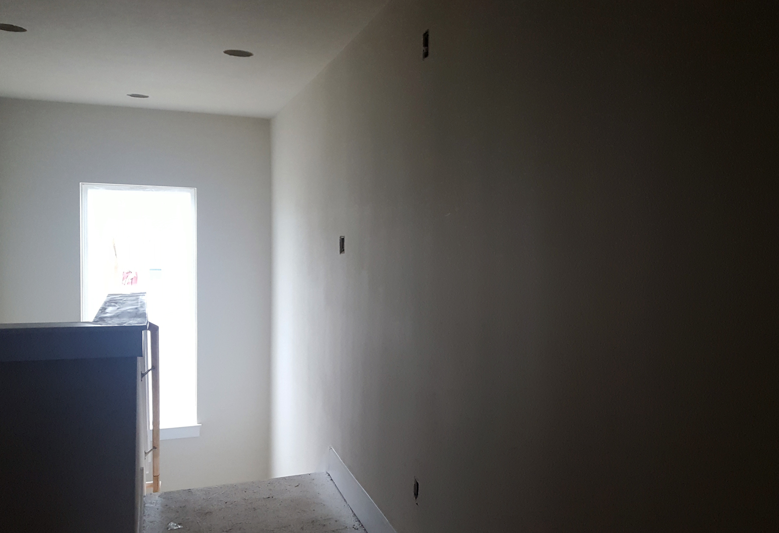 New Construction Drywall Finishing