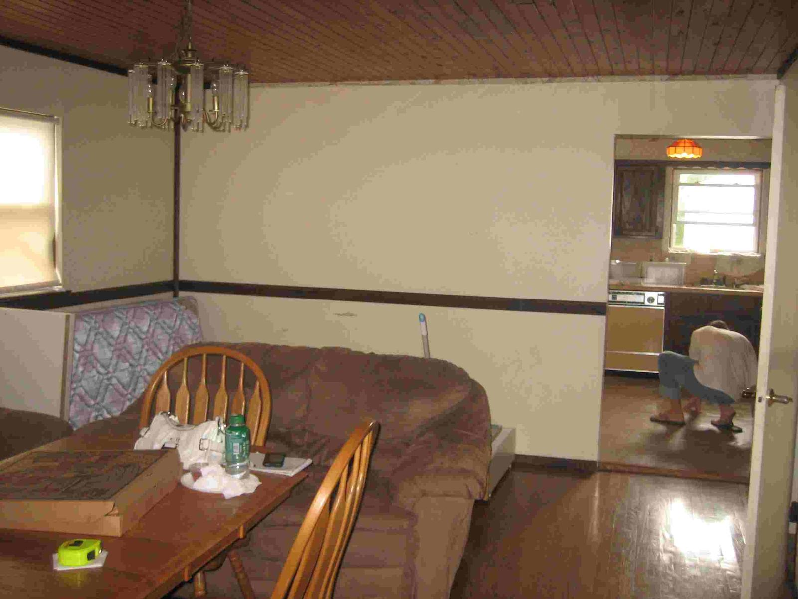 I Dont What Color To Paint With Dark Chair Rails Railing View Jpg