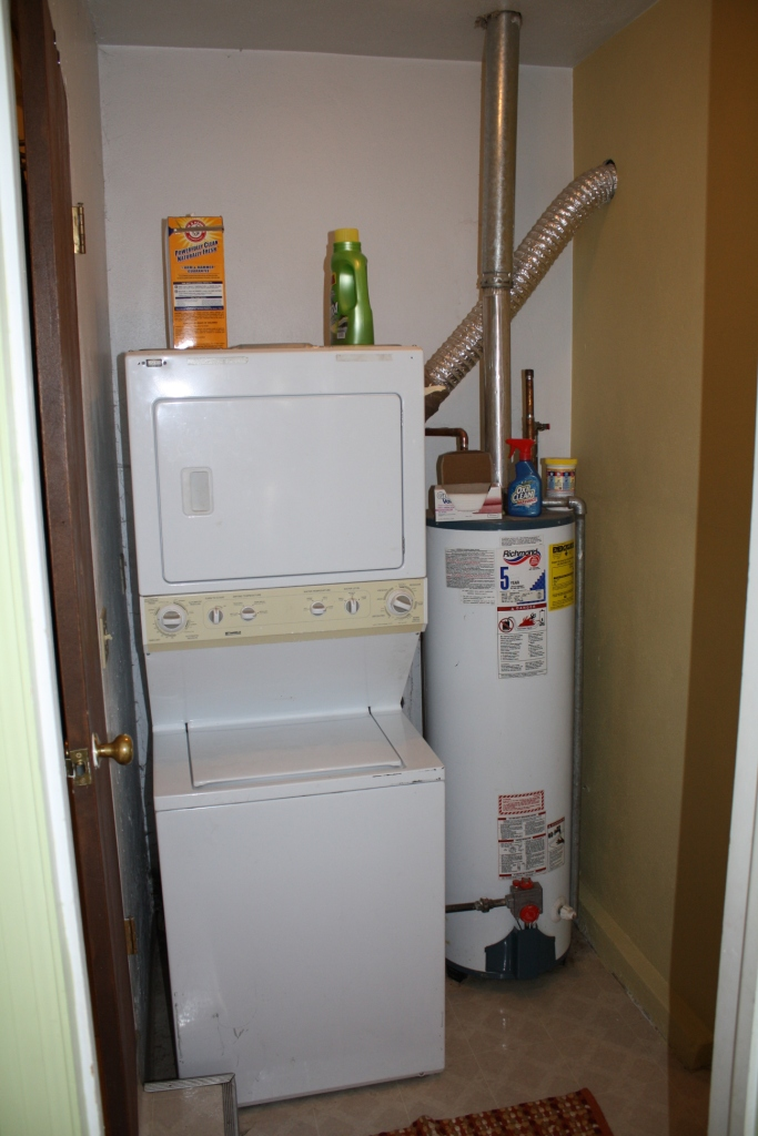 Need Some Space Ideas For Laundry And Water Heater