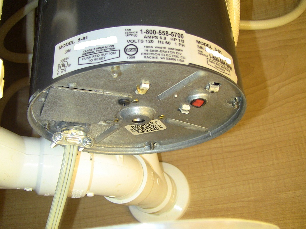 Food Disposer Insink Erator How To Fix The Leak Dishwasher