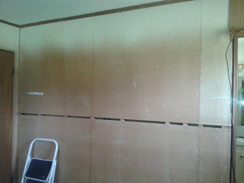 Removed Wood Paneling And Need To Put Up Drywall Jpg