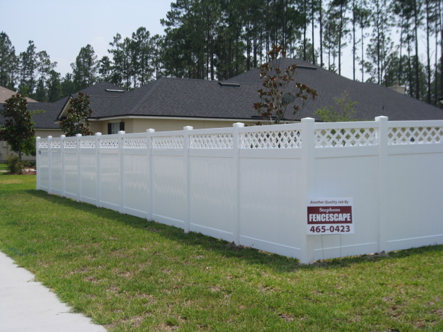 Compare Home Depot And Lowes Vinyl Privacy Fence