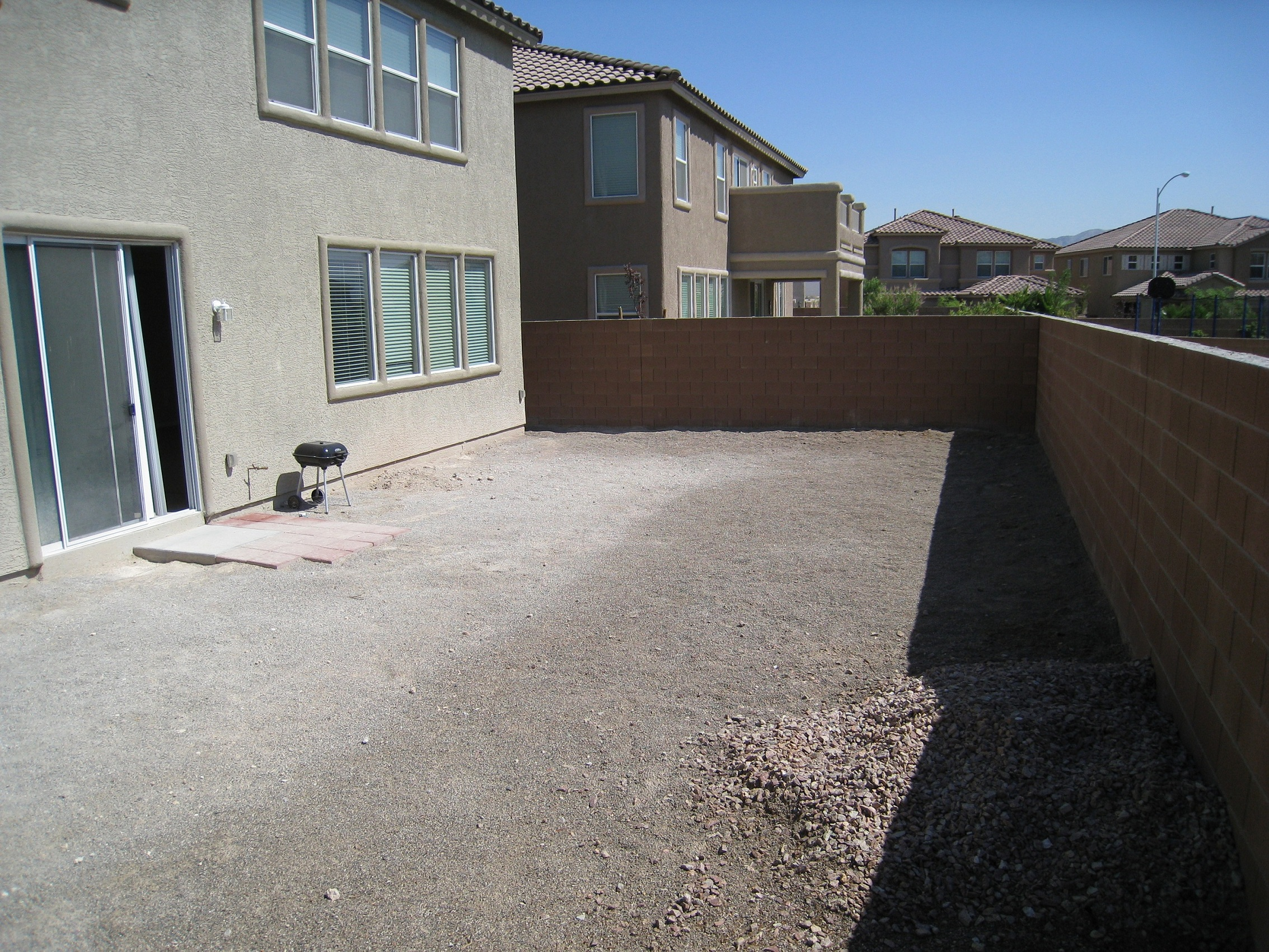 My Hoa Is After Me To Landscape Backyard Back Yard