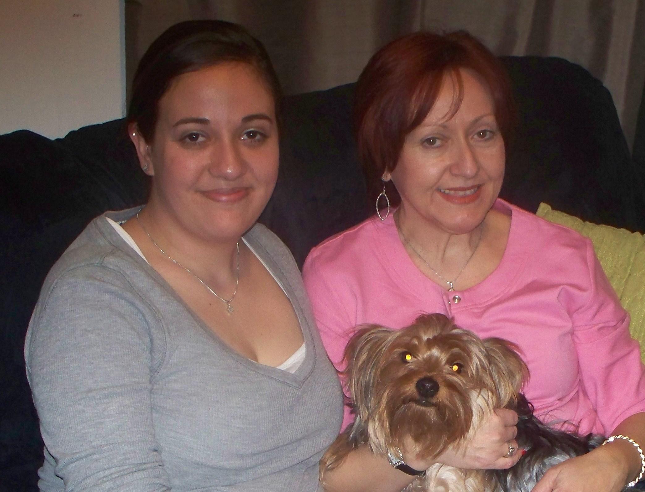 My wifes mom .com