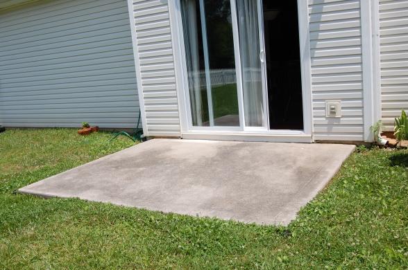 Extending Concrete Patio Slab Need Contractor Handyman Referral Jpg